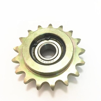 European  shop  China Standard 3/4 ×7/16''  Ball bearing idler sprocket