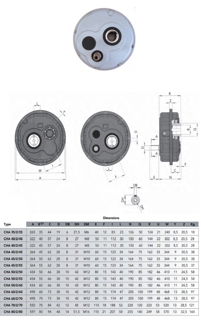 china supplier BWD BLD 2 Series 1:40 ratio cycloidal gearbox gear reducer for concrete transit mixer with TB support