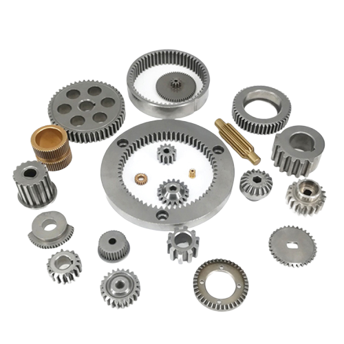 Technical innovation fine workmanship cnc machining auto parts brass gear wheel