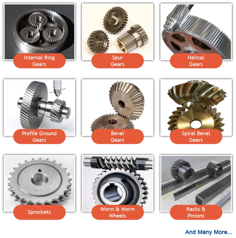 factory manufacturer for  customized oem forging automotive double steel helical bevel gear