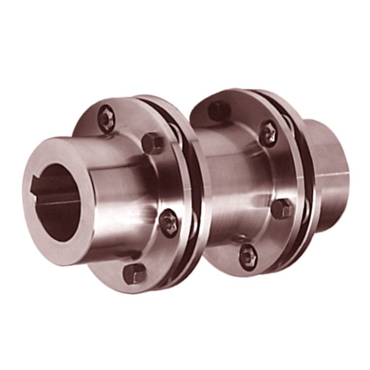 High Quality S45C material  thermal refining Double Pack Disc Coupling for pumps
