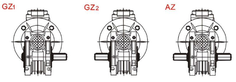 NMRV130 gear reducer power transmission gearbox