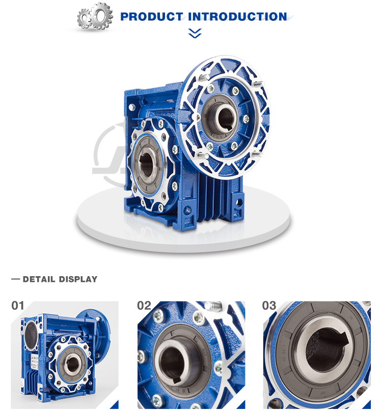Gold supplier high quality worm drive gear reduction variator motoreductor