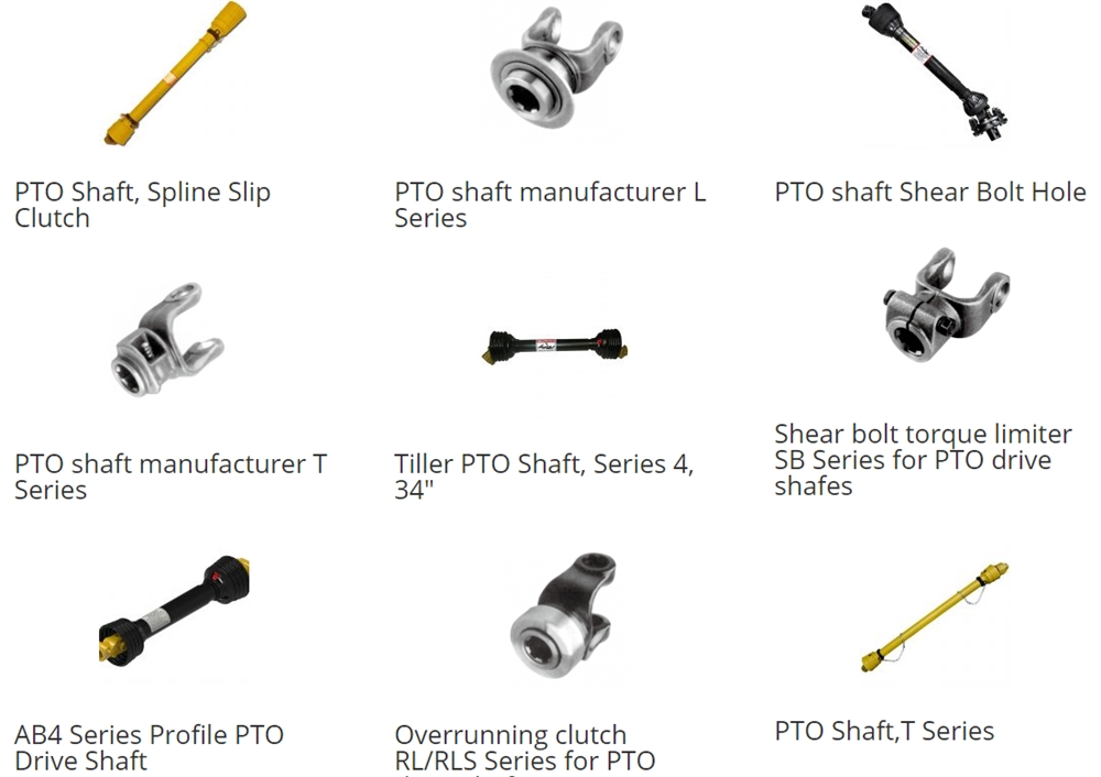 universal cross shaft for pto shaft