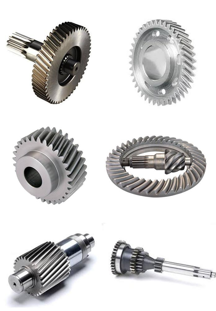 factory manufacturer for  big auto parts machining metal iron alloy steel aluminum driving bevel gear