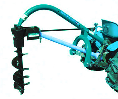 Garden Tool Hydraulic Digging Machine Earth Drill With Auger Crane