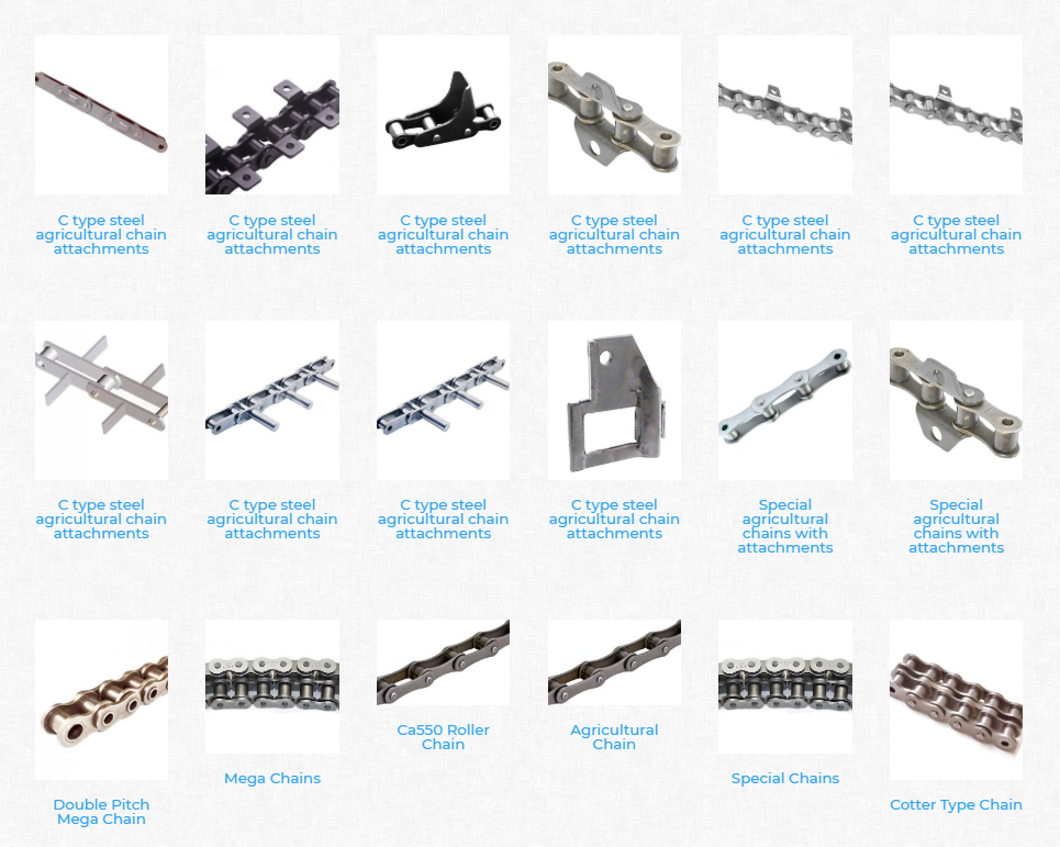 Steel Engineering Industrial Welded Roller Conveyor Chain