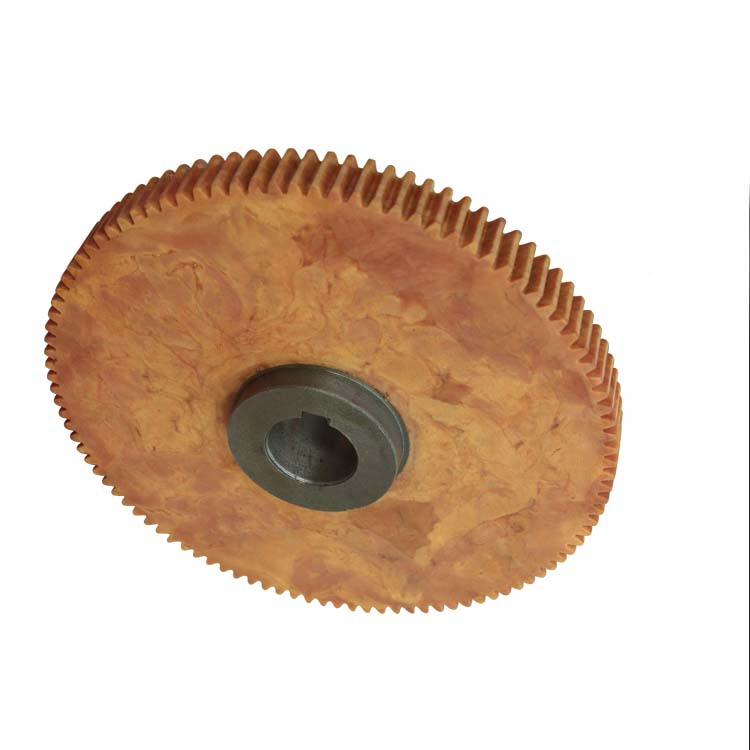 Best China manufacturer & factory 10mm nylon worm spur gear With high quality best price