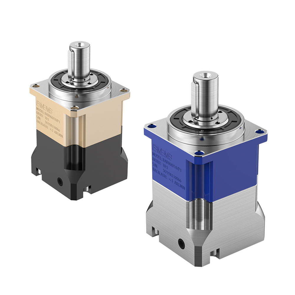 China best quality low sales price for china manufacturer  BAB060A 2-stage industrial coaxial precision planetary reduction gear box Factory Manufacturer and Supplier -from Pto-shaft.com