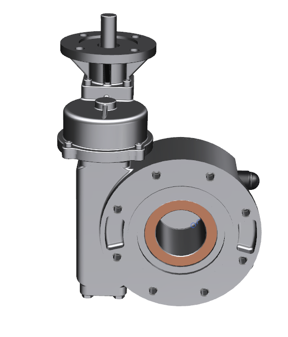 Best China manufacturer & factory good quality flange connected worm gearbox for valve With high quality best price