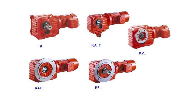 manufacturer of Superior quality reducing motor gearbox reducer helical bevel hollow shaft speed reducer