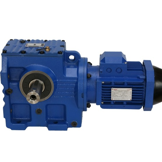 Best China manufacturer & factory Small  in Ribeirao Preto Brazil  Right Angle Helical-worm Motor Reducer S47 SF47 SA47 SAF47 SAT47 SAZ47 Helical Worm Gear Speed Reducer 90 Degree Gear box With high quality best price