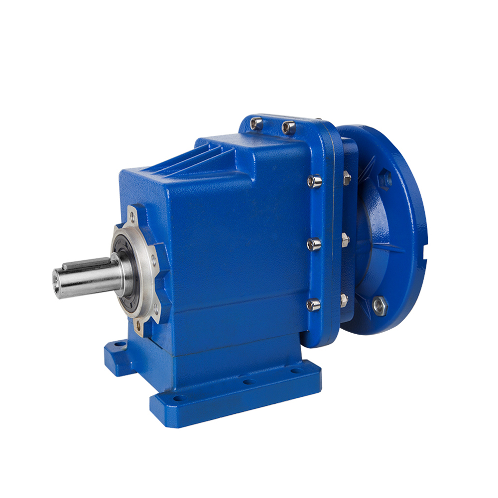 China best quality low sales price for china manufacturer  BRC03 die cast alum alloy housing 300Nm helical gear box reducer Factory Manufacturer and Supplier -from Pto-shaft.com