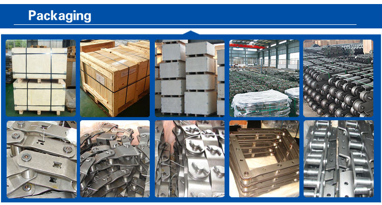 heavy duty straight sidebar chain supplies with ISO9001:2015