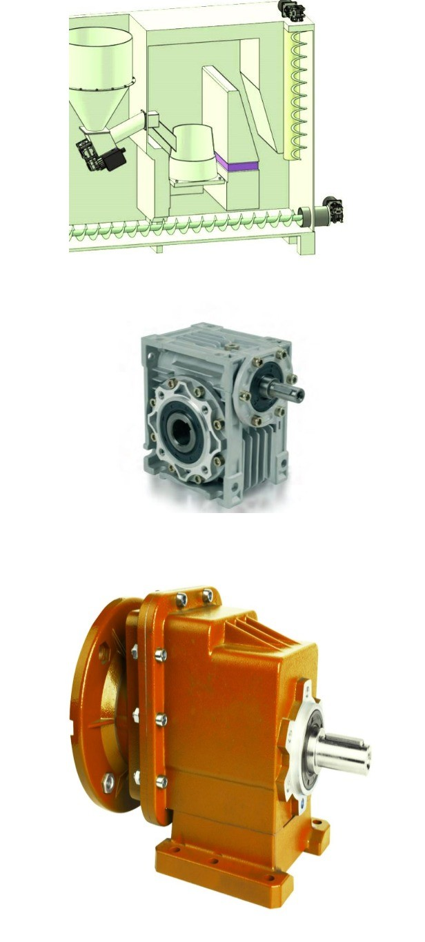 china supplier Shandong ZQD 3 stage higher ratio Gearbox speed reducer made in ZiBo