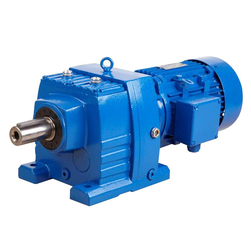 China manufacturer & factory supplier for china  in Phnom Penh Cambodia  manufacturer factory of helical geared speed reducer gearbox with stepper motor With high quality best price & service