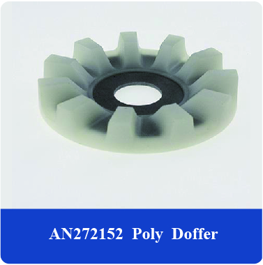 china manufacturer High Density farm machinery equipment parts Cotton picker spindle fit for JD N277078