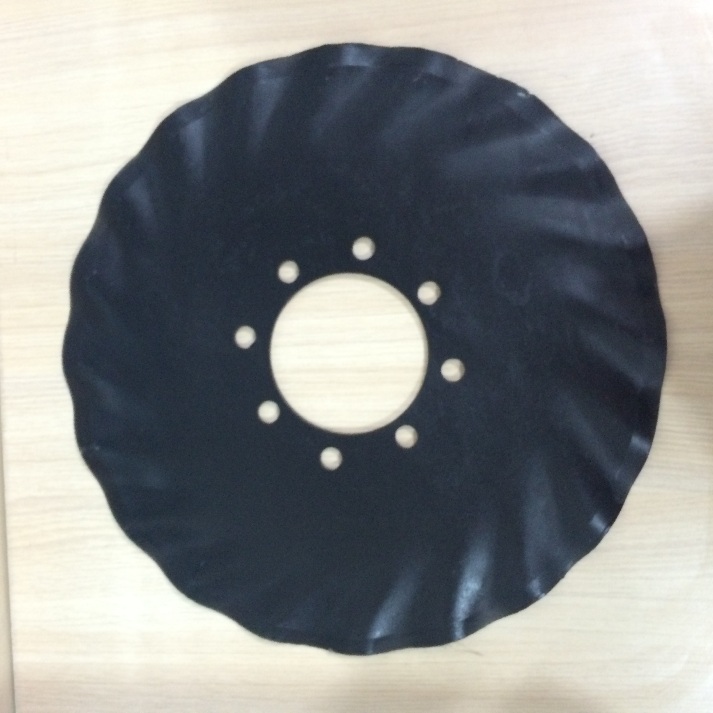 china manufacturer Agricultural disc harrow parts of 65Mn spring steel disc blade65Mn
