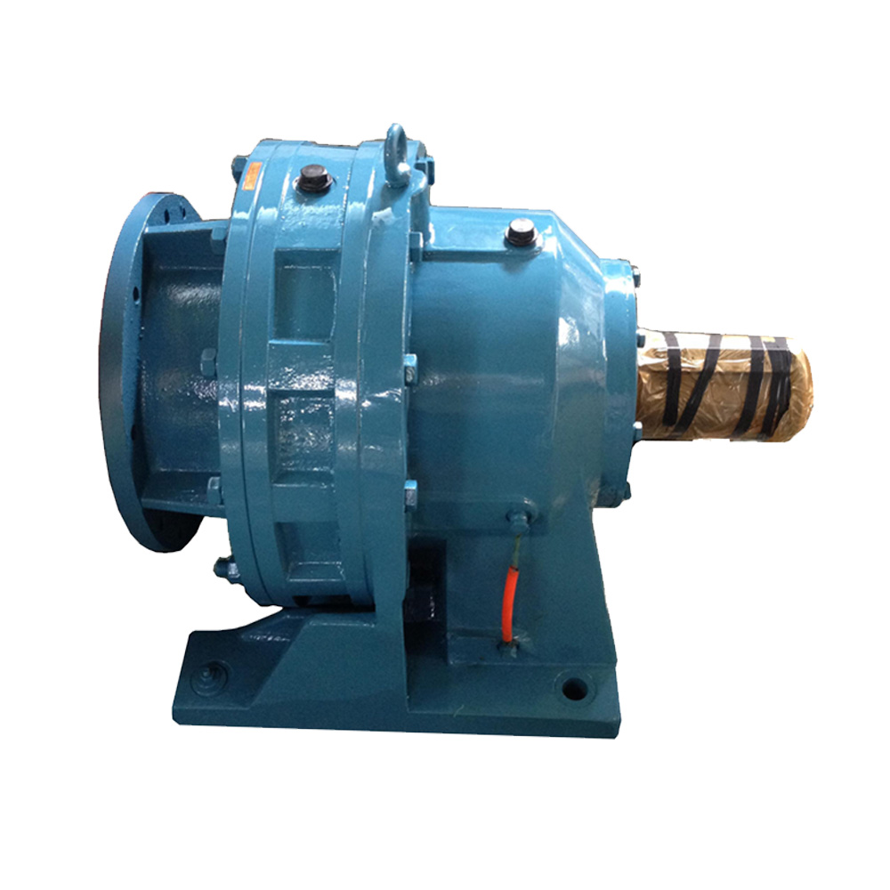 Best China manufacturer & factory cyclo gearbox cycloidal gearbox cyclo drive gear box speed reducer motor shaft mounted gearbox with electric motor With high quality best price