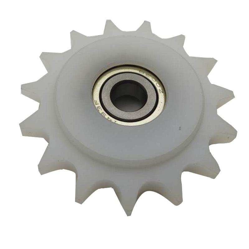 China manufacturer & factory supplier for China  in Maracay Venezuela   manufacturer Nylon plastic idler sprocket wheel With high quality best price & service