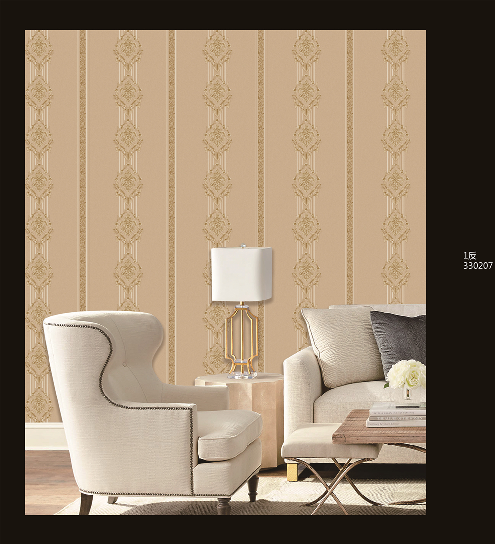 cheap price pvc wallpaper project wall coverings