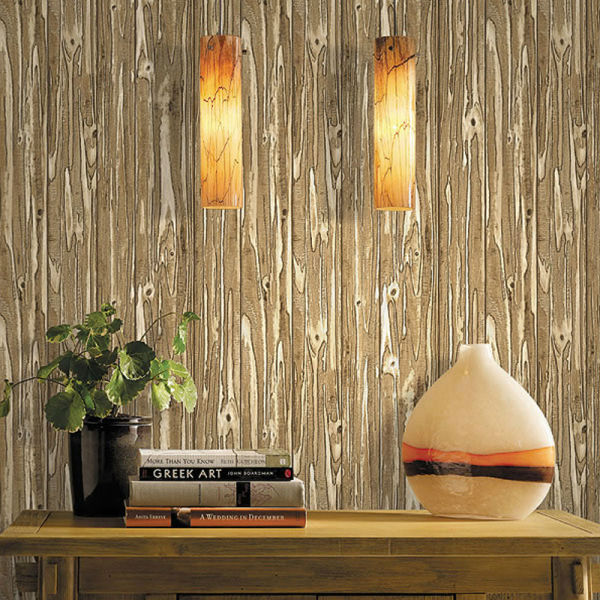 natural material wallpaper/jute wallpaper/bark wallpaper