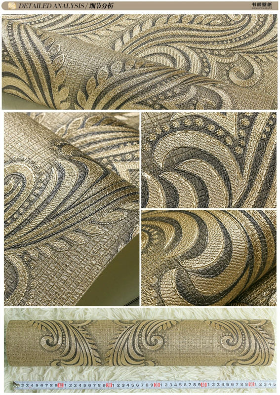New waterproof wallpaper for bathrooms/vinyl wallpaper for bathroom/ bathroom vinyl wallpaper