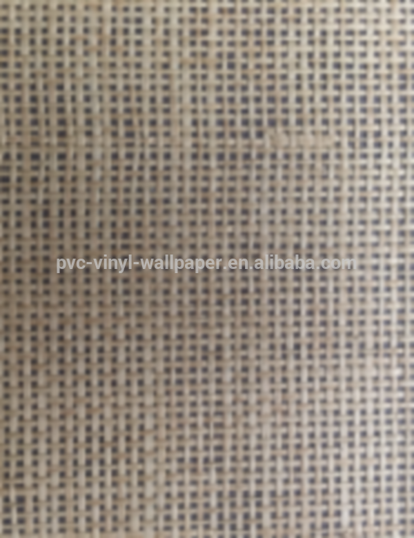 latest pvc vinyl washable burlap decorative wallpaper wallpaper