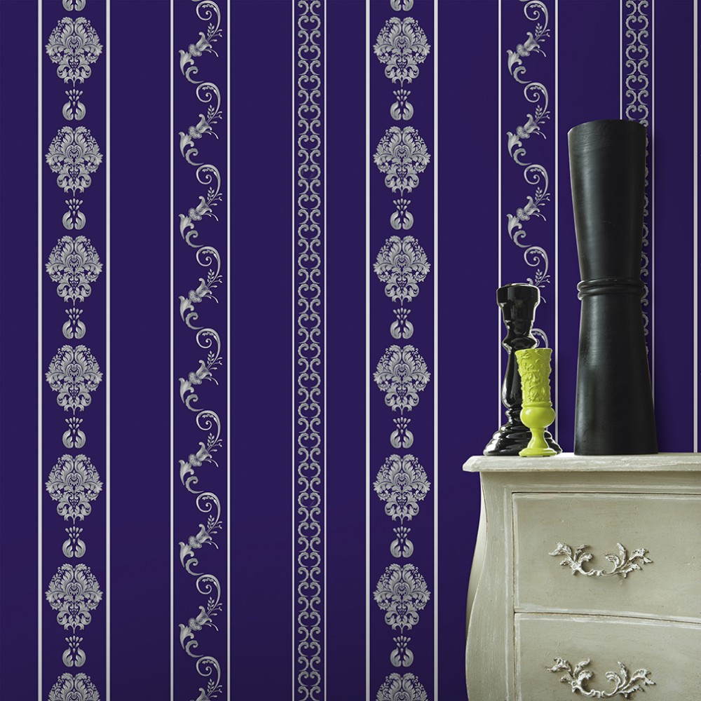 New Korean designer vinyl wallpaper home decoration
