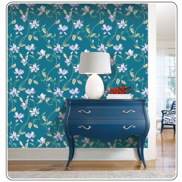 pvc vinyl wall paper home interior wallpapers