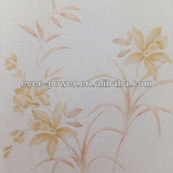 pvc foaming wallpaper for room decoration wallpaper mural 3d classique papier / vinyle mur revetement mural en vinyle