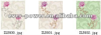 fresh and elegant flower design wallcovering amostras gratis de papel de parede