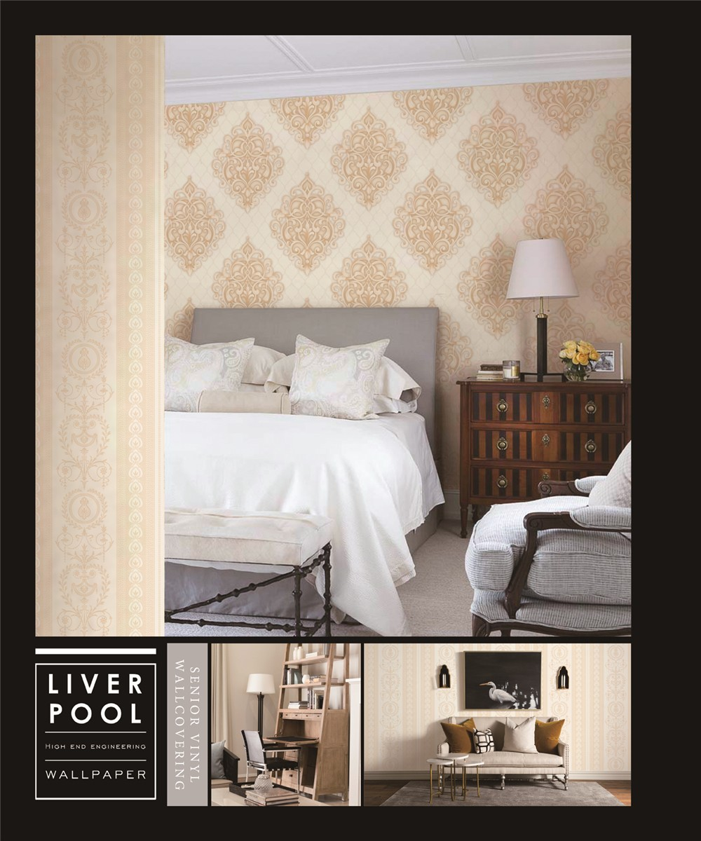 damask design background room wallcovering Hfee25a6b1e364e659347a7c0a4ee95e5G